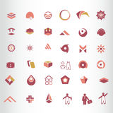Symbol design Royalty Free Stock Images