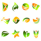 Symbol design element Royalty Free Stock Images