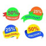 Symbol discount, vector Stock Image