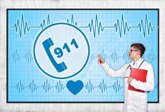 911 symbol Royalty Free Stock Image