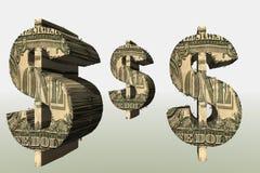 symbol dolara Zdjęcie Stock