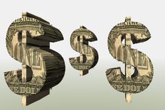symbol dolara ilustracja wektor