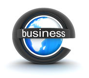 Symbol e-business Stock Photography