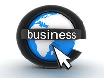 Symbol e-business Royalty Free Stock Photography