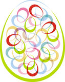 The symbol of Easter for design projects Royalty Free Stock Photo