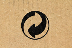 Symbol - Eco-packaging Stock Image