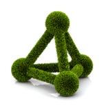 Symbol of ecological atom Royalty Free Stock Photo