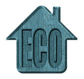 Symbol ecological house Stock Photography