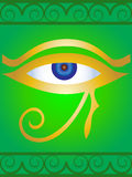 Symbol the Egyptian eye Royalty Free Stock Photography
