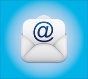 Symbol email Envelope Icon. Internet Royalty Free Stock Photography