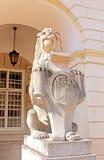 Symbol, emblem of the city Lviv, Ukraine Royalty Free Stock Photography