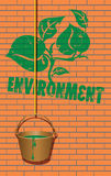 Symbol of the environment Stock Images