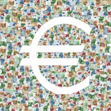 Symbol Euro Royalty Free Stock Image