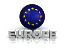 Symbol of Europe Stock Photos