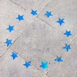 Symbol of European Union Stock Photography