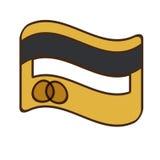 symbol för bank för tecknad filmkreditkortpengar stock illustrationer