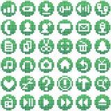 Symbol för bit för appelltelefon 8 Fotografering för Bildbyråer
