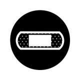 Symbol för botmusikbandförsta hjälpen vektor illustrationer