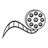symbol för clipart för filmfilm Arkivbild