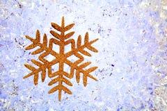 symbol för crhistmassnowflakestjärna Royaltyfri Bild