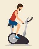 symbol för cykel för manövningar statisk royaltyfri illustrationer