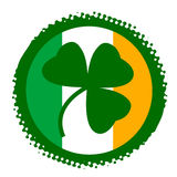 symbol för dagpatrick s st stock illustrationer