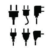 Symbol för elektrisk propp Arkivbilder
