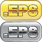 Symbol för EPS-förlängningsvektor Arkivfoto