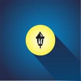 Symbol för gatalampa Arkivbilder