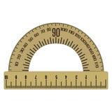 Symbol för gradskivavektorlägenhet Arkivfoton