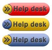 Symbol för hjälpskrivbord arkivfoto