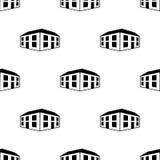 symbol för kontorsbyggnad 3d Beståndsdel av symbolen för byggnad 3d för mobila begrepps- och rengöringsdukapps Sömlös 3d kontorsb stock illustrationer