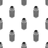 symbol för kontorsbyggnad 3d Beståndsdel av symbolen för byggnad 3d för mobila begrepps- och rengöringsdukapps Sömlös 3d kontorsb royaltyfri illustrationer