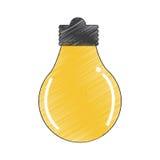Symbol för kulaljus Arkivbilder