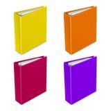 Symbol för mappfärgvektor Arkivbild