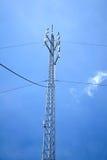 symbol för radio för antennknappsymbol Arkivfoton