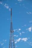 symbol för radio för antennknappsymbol arkivbild