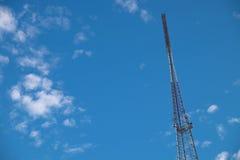 symbol för radio för antennknappsymbol Fotografering för Bildbyråer