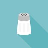Symbol för salt shaker stock illustrationer