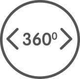Symbol för sikt 3d Fotografering för Bildbyråer