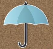 Symbol för symbol för skyddsparaplysäkerhet Arkivbilder