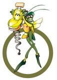 Symbol för taxitaxi Arkivfoton