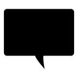 Symbol för textmeddelande Royaltyfria Foton