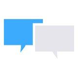 Symbol för textmeddelande Royaltyfri Fotografi