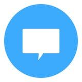 Symbol för textmeddelande Royaltyfri Foto