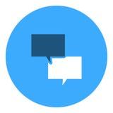 Symbol för textmeddelande Arkivfoto