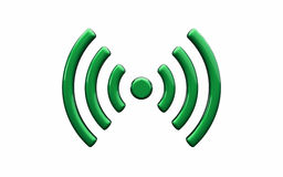 Symbol för trådlöst nätverk för Wi Fi royaltyfri illustrationer