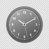 symbol för väggkontorsklocka vektor illustrationer