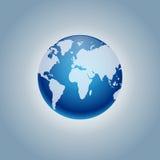 Symbol för vektorplanetjord Plan planetjordsymbol Plan designvektorillustration för rengöringsdukbaner, rengöringsduk och mobil Arkivbilder