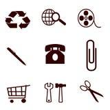 Symbol für Geschäft Stockfoto